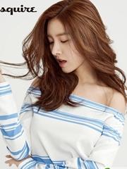 超全韩式女生烫发 亚麻色唯美长烫发图片