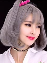 空气梨花短发发型 2017流行短发发型