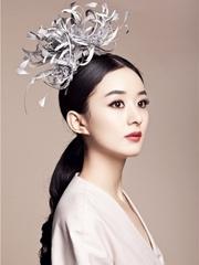 赵丽颖最新梦幻公主系列杂志封面写真