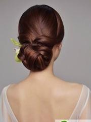 欧式新娘盘发发型大全