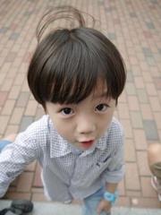 韓國帥氣小男孩發型