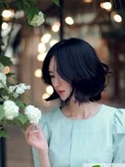 韩国模特尹善英短发 超美韩式短发发型设计