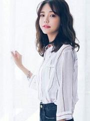 显瘦梨花头发型 流行韩式梨花头