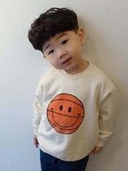 圆脸的4岁男孩剪什么发型好看