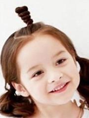 设计胖脸儿童的发型