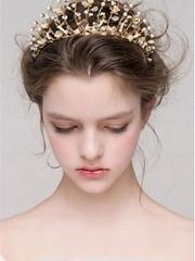 优雅新娘发型图片 2017绝美新娘造型