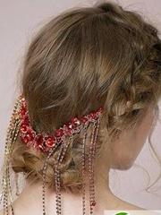 梦幻婚礼从发型做起 当天结婚新娘发型