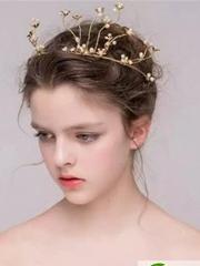 2017年仙气十足新娘发型