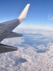 第一次坐飛機
