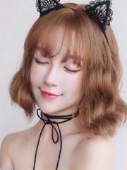 内扣梨花头发型 显白减龄短发