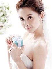 angelababy唯美婚纱摄影