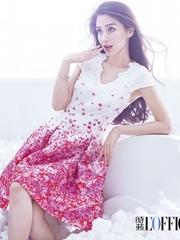 angelbaby杂志封面写真