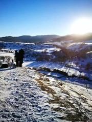 乌兰巴统雪域坝上