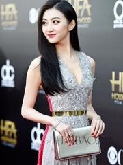 景甜亮相第18届好莱坞电影奖颁奖典礼