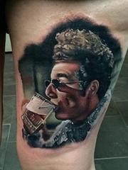 十一款著名的人物肖像纹身来自约翰巴雷特