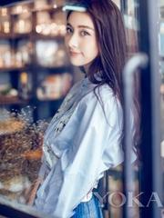贾青清新写真大片曝光 俏皮展小女生风情