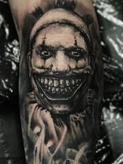世界上最恐怖的纹身人物肖像纹身妖魔鬼怪纹身图案