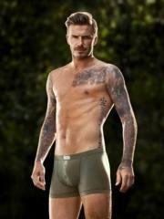 贝克汉姆半甲手臂个性纹身图案