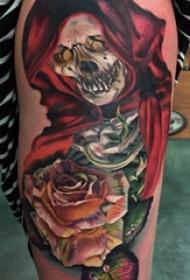 一组彩绘纹身技巧多元化个性纹身图案