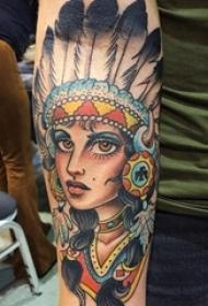多款创意精致的素描有趣民族风格纹身图案