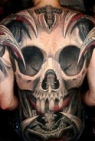 满背纹身经典霸气