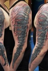 手臂纹身素材 男内行臂纹身素材图片