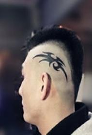 头侧炫酷标志图纹