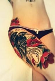 艺术特性花腿纹身