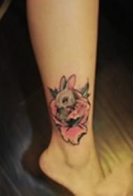 经典可爱动物纹身
