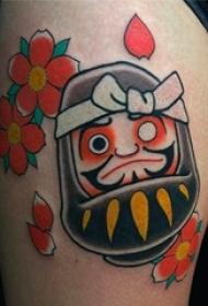 干净简单日式纹身图案