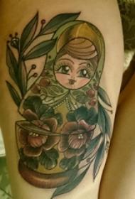 纹身卡通 女生手臂上卡通纹身图案
