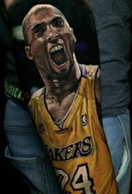关于篮球的纹身图案 多款简单线条纹身素描篮球纹身图案