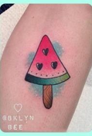 可爱纹身小图案 多款彩绘纹身素描可爱纹身小图案