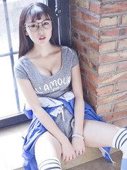 赵小米Kitty水灵灵性感运动装写真
