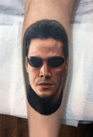 人物纹身图片 男生手臂上人物纹身图片