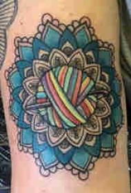 梵花纹身 男生手臂上梵花纹身图片
