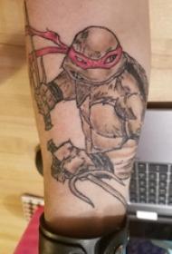 纹身卡通图案 男生手臂上卡通纹身图片