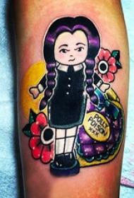 纹身可爱图案 多款小清新文艺纹身彩色可爱纹身图案