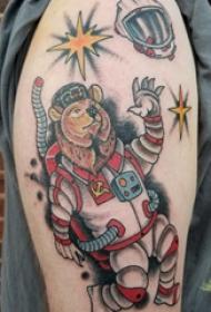 熊纹身 男生手臂上熊纹身图案