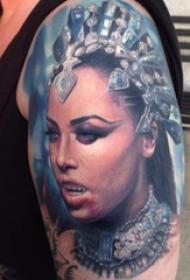 恐怖纹身 多款素描纹身恐怖纹身图案