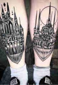 传统纹身 多款简单线条纹身素描传统纹身图案