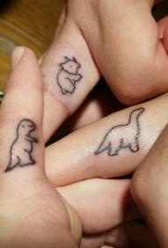 手部纹身小图案 女生手部小图案纹身图片