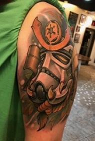 纹身动漫 男生手臂上动漫纹身图片