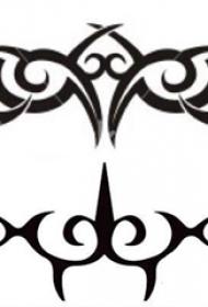 部落图腾纹身 黑色纹身部落图腾纹身手稿
