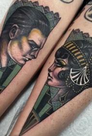 文艺花朵纹身 多款小清新文艺纹身彩色花朵纹身图案