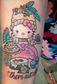 可爱纹身图案 多款彩绘纹身素描可爱纹身图案