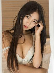 青豆客90后单纯漂亮美女可乐Vicky内衣写真 90后美女露乳房