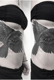 黑灰纹身 多款素描纹身点刺技巧素描纹身图案