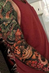 彩繪紋身 多款素描紋身彩繪經典紋身圖案