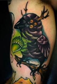 彩绘纹身 多款彩绘纹身简单线条纹身图案